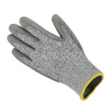 Высоки - квалифицированная чернота отрезать перчатки