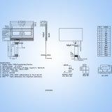 2.1 بوصة سنّ [128إكس3201] [إ-ينك] لأنّ [لكد] وحدة نمطيّة