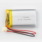 De navulbare Batterij van het 103048 3.7V 1500mAh Li-IonenPolymeer