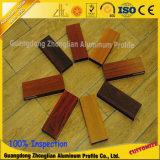 صنع وفقا لطلب الزّبون ألومنيوم بثق قطاع جانبيّ محاكاة خشب