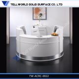 Diseño caliente moderno del contador de la recepción del escritorio de recepción del salón de la venta