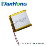 1000mAh bateria de polímero de lítio 3.7V 604040pl para GPS