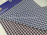 El hilo de algodón teñió la verificación Fabric-Lz8683 del Dobby