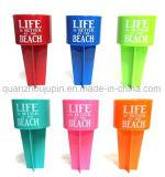 Venda a Praia de plástico quente OEM chávena