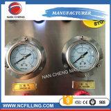 Macchina di rifornimento equilibrata automatica di pressione della bottiglia di vetro