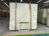 La parete della decorazione dell'hotel di vendita della fabbrica direttamente pavimenta il marmo di marmo verde della giada di Asia centrale