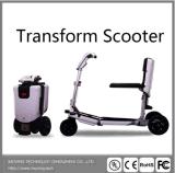 Golf ocio al aire libre Scooter de tres ruedas Safetly Smart coche eléctrico plegable de 3 ruedas