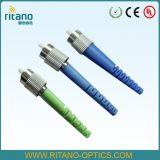 FC fibra óptica até casa Conector de Fibra Óptica