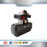 Rectángulo de interruptor de límite de serie Apl210 para la válvula de mariposa de la vávula de bola del actuador neumático