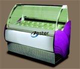 Sorvete Gelato vitrina de exposição de congelador refrigerados Gn1/4 (V16)