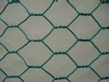 Sechseckige Loch-Form und galvanisierter Eisen-Draht-materieller sechseckiger Maschendraht