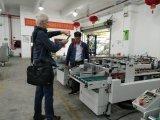 máquina de alta velocidad auto del gluer de la carpeta de la máquina de la fabricación de cajas de la ropa interior