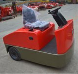 3000kg空港/工場米国カーティスが付いている電気牽引のトラクターの手段