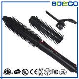 2017 3 populares em 1 escova cerâmica substituível de Straighteneing do cabelo