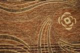 Tessuto di Chenille africano del poliestere del coperchio del sofà
