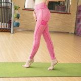 Фитнес брюки Sexy тренажерный зал Leggings женские брюки для занятий йогой