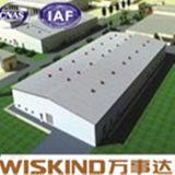 Structure métallique pré conçue de mesure légère pour des matériaux de construction
