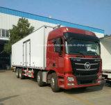 De Op zwaar werk berekende Gekoelde Bestelwagen van Foton 8X4 30 van de Verse van het Voedsel Ton Vrachtwagen van het Vervoer