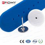 Полоса голубого контроля допуска RFID ключевая в форме вахты