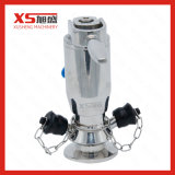 Válvulas pneumáticas da amostra de Aspetic da operação do aço inoxidável de Ss316L