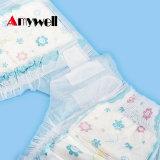 高品質のニースの柔らかい綿の慰めのスリープ使い捨て可能な赤ん坊のおむつ