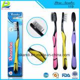 Aktivität Bambusder holzkohle-Faser-weichen Zahnbürste