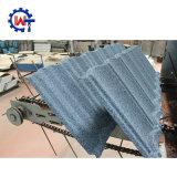 Azul ártico dominiquense 50 anos de telha de telhado revestida da pedra da garantia