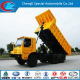 De Vrachtwagen van de Stortplaats van de Mijnbouw van Shacman 6X4