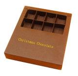사탕을%s 관례에 의하여 인쇄되는 크리스마스 Kraft 종이 선물 상자