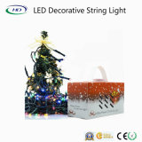 Luz da corda da decoração do Natal do diodo emissor de luz sem bateria