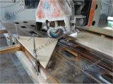 Semi-Auto borda do granito/a de mármore da estaca do equipamento do Sawing da pedra