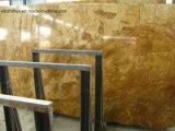 부엌 목욕탕 등록 지면 벽을%s 닦는 구리 노란 대리석