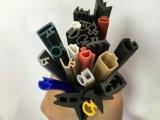 Extrusión de alta calidad de las bandas de la junta de goma de silicona de colores