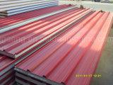EPS屋根のパネルまたは壁パネルのためのカラーによって塗られる鋼鉄サンドイッチパネル