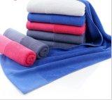 昇進の100%年の綿のスポーツ/最高吸収の表面/手タオル