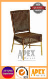 タケ肘のない小椅子(AS1021BR)の藤の肘のない小椅子の喫茶店の家具