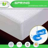 El llano ajustado del colchón de la cubierta de base teñió la hoja ajustada protector impermeable del algodón del lecho