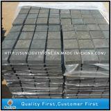 G684 basalte noir Retour maillé Flagstone/pavés pavées