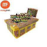 Gioco di gioco della galleria della Tabella del re Safari Jackpot Catch Fish del leone dei 8 giocatori