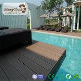 Cubierta plástica de madera al aire libre de la piscina de la instalación fácil WPC