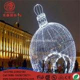 Свет мотива шарика Gaint освещения СИД для украшения рождества напольного