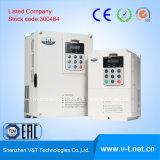V&T V5-H 0.4 al mecanismo impulsor variable de la frecuencia de la aplicación de la carga pesada de 3.7kw 1/3pH 200V