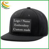 Custom плоские края Snapback колпачок с 3D вышивкой логотипа дизайн