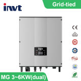 3invité kwatt-6kwatt-2m Grille simple phase- liée Solar Power Inverter (double)