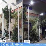 20W 30W LED integrada en una calle la luz solar
