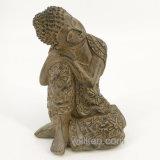 Het goedkope Standbeeld van Thailand Boedha van het Decor van het Huis van de Ambachten van de Hars