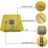 自動卵ターナーが付いている48羽のアヒルの卵の定温器