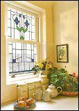 Het Comité van de Vensters van het Gebrandschilderd glas van Tiffany van de kunst