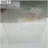 Super freies Muster-Glas des Muster-Glas-/Niedrig-Eisen/gerolltes Glas für Badezimmer