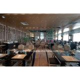 最新の現代木の喫茶店のレストランの家具はセットした(KL R02)
